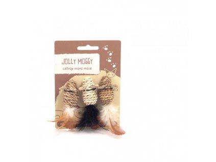 Jolly Moggy Hračka pro kočky Myš Mini Mice