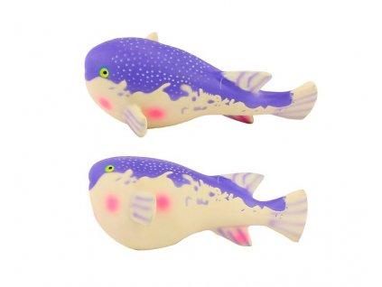 Pískací hračka pro psy Latex Balloonfish