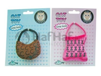 Hračka pro kočky Catnip Handbag