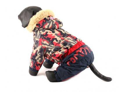 Oblečky pro psy a fenky – Overal pro fenky For My Dogs, maskáčový