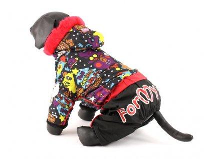 Obleček pro psy – Zimní overal pro psy Snow Monitain