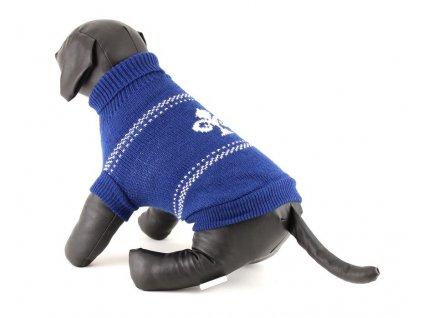 Modrý pletený svetr pro psy i fenky od URBAN PUP