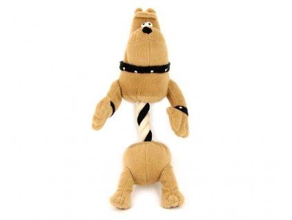 Pískací hračka pro psy od ROSEWOOD – plyšový pes