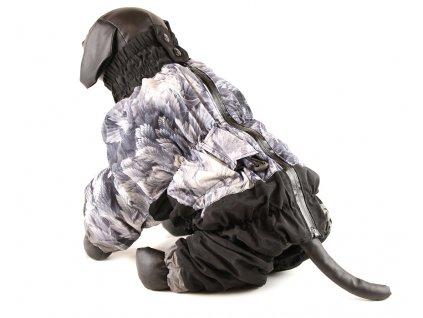 Teplý zimní overal pro psy středních plemen
