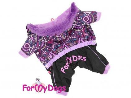 Obleček pro fenky – zimní nepromokavý overal od For My Dogs