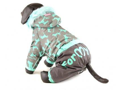 Obleček pro psy – nepromokavý zimní overal od For my Dogs