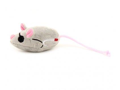 Oblíbená hračka pro kočky ve tvaru malé myšky