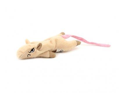Oblíbená hračka pro kočky ve tvaru malé naštvané myšky