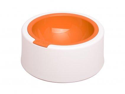 Elegantní miska pro střední a velké psy, oranžová