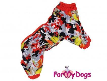 Pláštěnka pro fenky For My Dogs CAMOUFLAGE