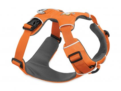 Postroj pro psy RUFFWEAR Front Range, oranžový