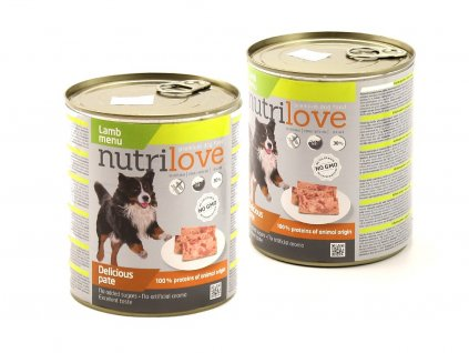 Nutrilove paté – kompletní krmivo pro psy (2)
