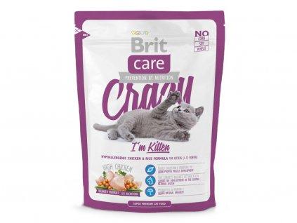 BRIT CARE – superprémiové hypoalergenní granule pro koťata