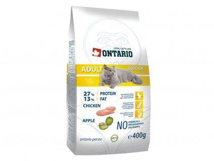 Ontario – krmivo pro kočky žijící v bytě nebo domě