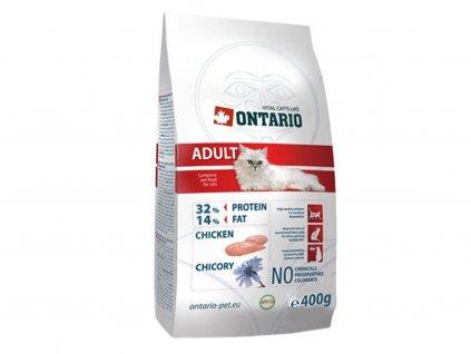 ONTARIO Adult Chicken – superprémiové granule určené pro dospělé kočky