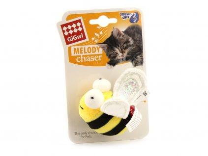 Hračka pro kočky – včelka