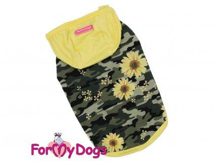 Obleček pro psy i fenky – maskáčové tílko od ForMyDogs