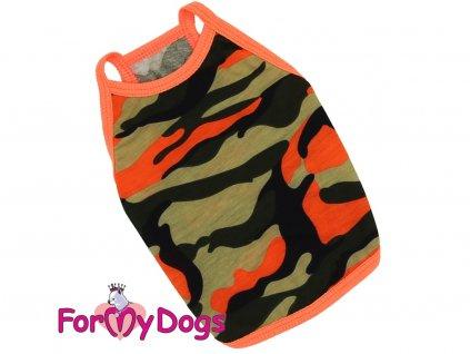 Obleček pro psy i fenky – lehoučké maskáčové tílko od FMD
