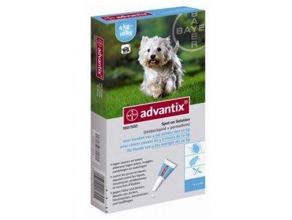 Advantix Spot On 1×1 ml – antiparazitikum pro střední psy