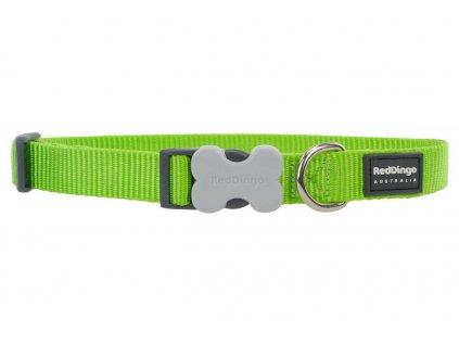 Obojek pro psy RD, limetkově zelený
