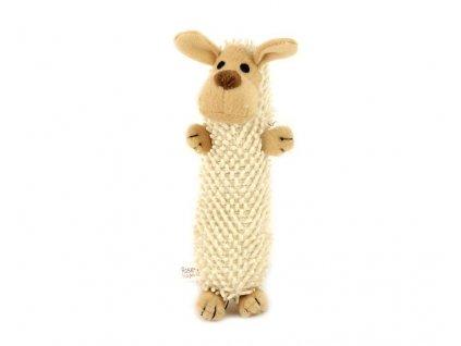 Roztomilá pískací hračka pro psy – plyšová ovečka