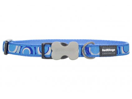 Obojek pro psa RED DINGO – Circadelic Medium Blue