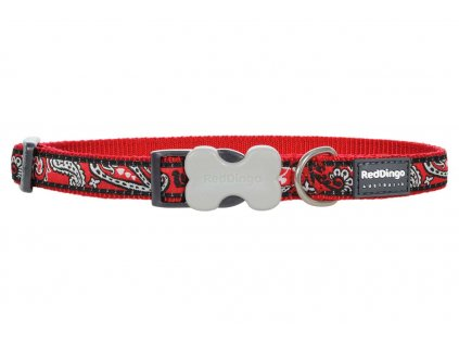 Obojek pro psa RED DINGO – Bandana Red