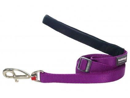 Vodítko pro psa, fialové