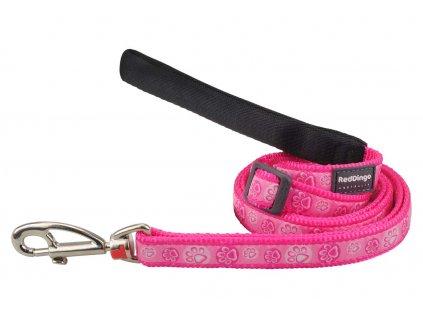 Vodítko pro psa, růžové