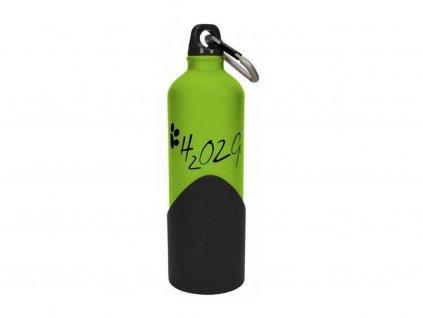 lahev na vodu pro psy zelena