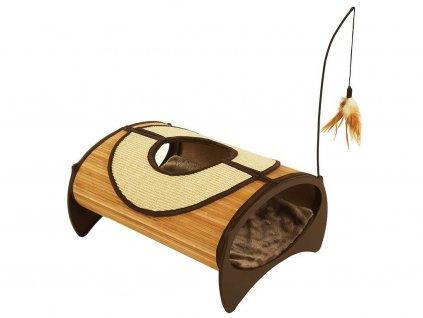Bambusové odpočívadlo pro kočky