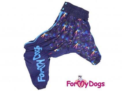 Obleček pro psy středních a větších plemen – teplý zimní overal od For My Dogs z voduodpudivého materiálu