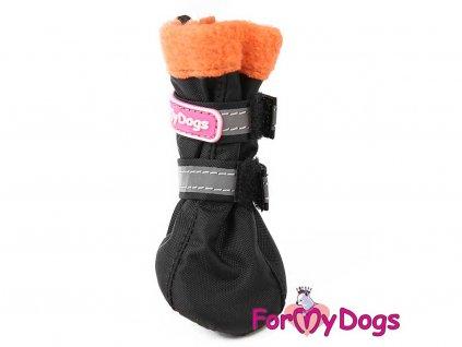 black orange fleece