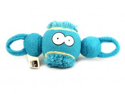 Modrá aportovací hračka pro psy
