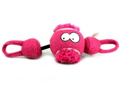 Purpurová aportovací hračka pro psy