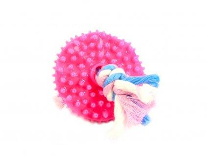 Kousací hračka pro štěňata, růžová