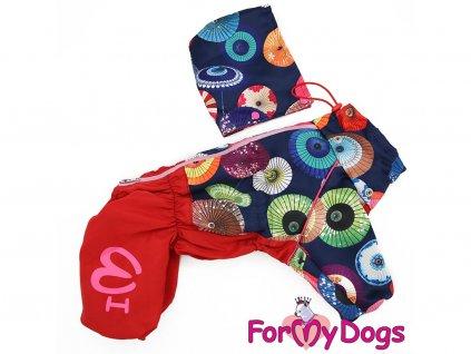 Oblečky pro psy i fenky – inovovaná, super komfortní a funkční pláštěnka pro fenky UMBRELLAS