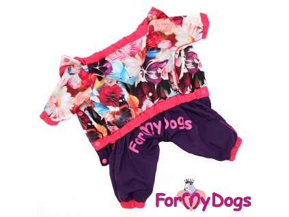 Obleček pro psy – pláštěnka pro fenky malých až středních plemen od For My Dogs