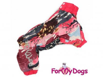 Obleček pro psy – pláštěnka pro fenky od ForMyDogs – SAKURA
