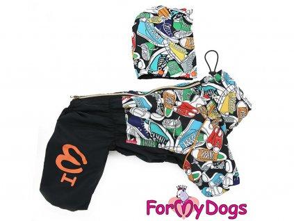 Obleček pro psy – pláštěnka FMD, nový super komfortní a funkční model SNEAKERS