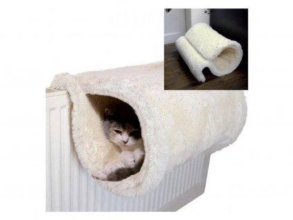 Pelíšek pro kočky na radiátor