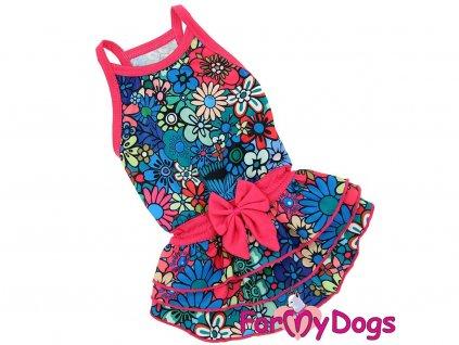 Oblečky pro psy – stylové letní bavlněné šaty pro fenky od ForMyDogs