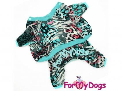 Obleček pro psy i fenky – lehký overal LEO BLUE