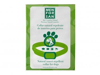 Čistě přírodní repelentní obojek pro psy