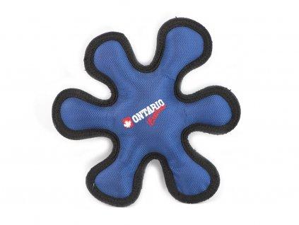 Jednoduchá odolná hračka pro psy přímo stvořená pro aportování, barva modrá