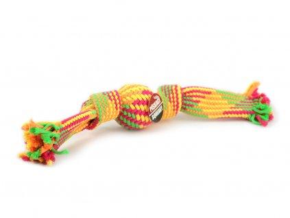 Jednoduchá kousací a přetahovací hračka vhodná pro malá a střední plemena psů