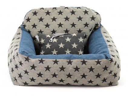 Autosedačka pro psy – pelíšek pro pohodlné cestování a ochranu autosedadel před psími chlupy, nečistotami a poškozením