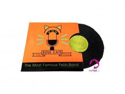 Škrabadlo pro kočky BOBBY Vinyl MIX