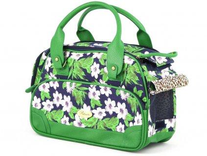 Luxusní prostorná kabelka/taška psy až do 8 kg. Kolekce Urban Pup, řada ORCHID, doporučená maximální váha psa 8 kg