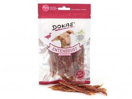Vynikající pochoutky pro psy – proužky z kachních prsou pro zdravé mlsání. Bez konzervantů, umělých barviv a dochucovadel